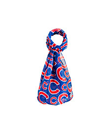 Forever Collectibles Chicago Cubs All Over Logo Infinity Scarf