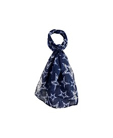 Dallas Cowboys All Over Logo Infinity Scarf