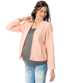 A Pea in the Pod Ponte-Knit Maternity Jacket
