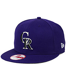 New Era Colorado Rockies 2-Tone Link 9FIFTY Snapback Cap