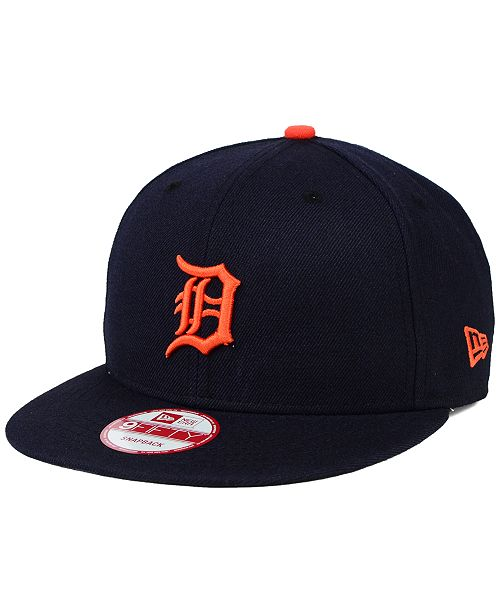 best service c4d19 3e87d ... New Era Detroit Tigers 2-Tone Link 9FIFTY Snapback Cap ...