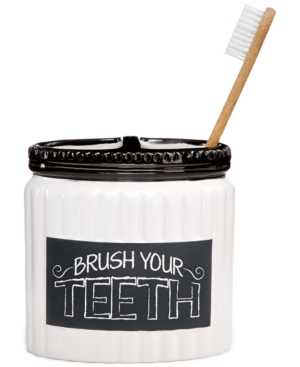 Chalk It Up Toothbrush...