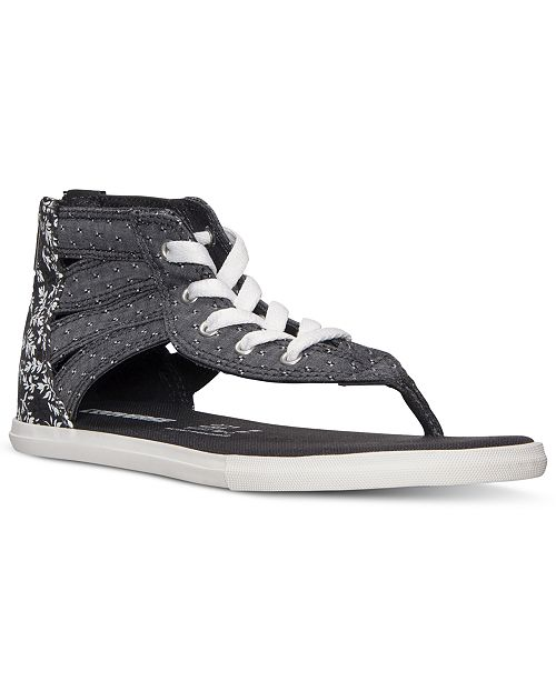 b5541479801 ... Converse Women s Chuck Taylor Gladiator Thong Sandals from Finish ...