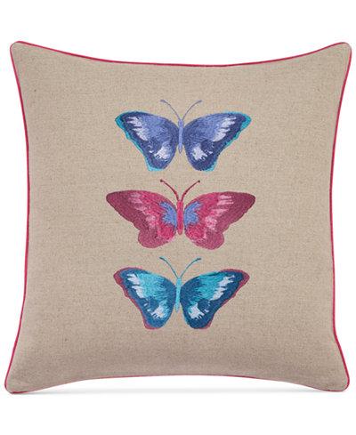bluebellgray Embroidered Butterflies Linen 16
