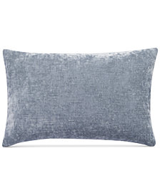 "bluebellgray Morar Velvet/Linen Reversible 12"" x 18"" Decorative Pillow"