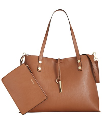 Calvin Klein Sonoma Extra Large Reversible Tote with Pouch