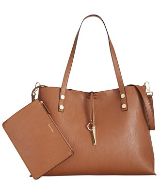 Calvin Klein Sonoma Extra Large Reversible Tote with Pouch ...