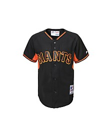 Majestic San Francisco Giants Replica Jersey, Big Boys (8-20)