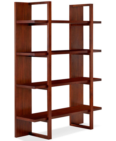 Battery Park Home Office Open Bookcase Furniture Macy S