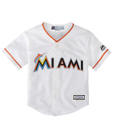 Majestic Toddlers' Miami Marlins Replica Jersey