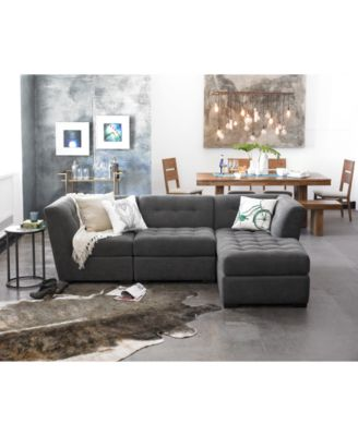 Gentil Furniture CLOSEOUT! Roxanne Fabric Modular Living Room Furniture  Collection, Created For Macyu0027s   Furniture   Macyu0027s