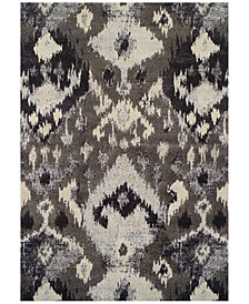 "Neo Grey Inca Pewter 9'6"" x 13'2"" Area Rug"