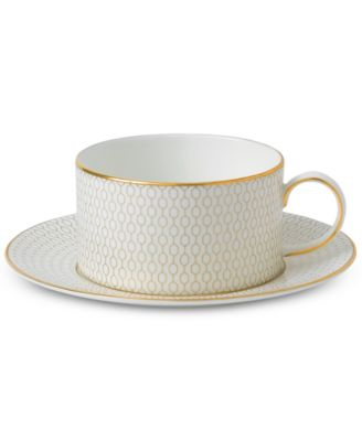 Arris Teacup & Saucer Set