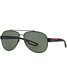 Polarized Sunglasses , PS 55QS