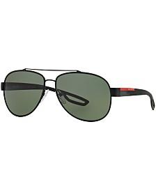 Prada Linea Rossa Polarized Sunglasses , PS 55QS