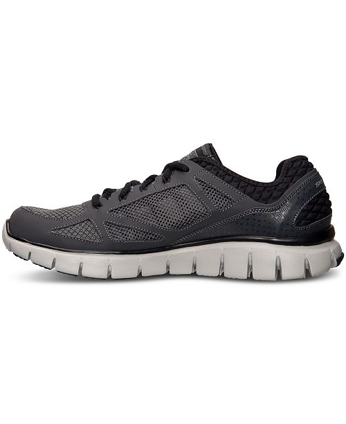 From Force Sneakers Finish Skechers FitLife Relaxed Men's Running 54RjL3A