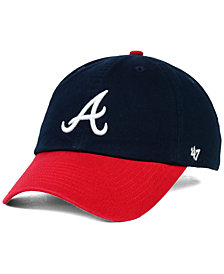 '47 Brand Atlanta Braves OFR Clean Up Cap