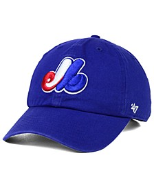 Montreal Expos Core Clean Up Cap