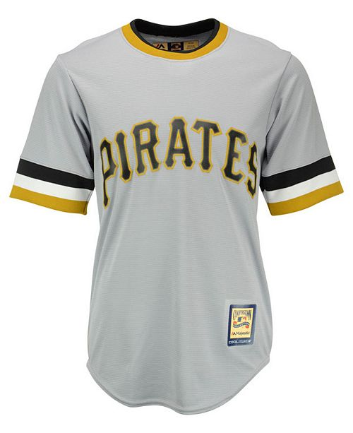 Majestic Roberto Clemente Pittsburgh Pirates Cooperstown Replica Jersey ... 1420f7595