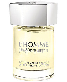 Yves Saint Laurent Men's L'HOMME After Shave Lotion, 3.3 oz.