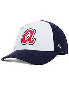 '47 Brand Atlanta Braves MVP Curved Cap