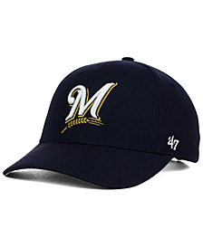 '47 Brand Milwaukee Brewers MVP Curved Cap