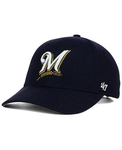 '47 Brand Milwaukee Brewers MVP Curved Cap