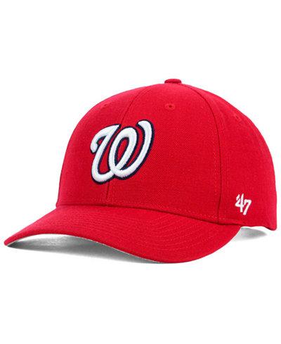 '47 Brand Washington Nationals MVP Curved Cap