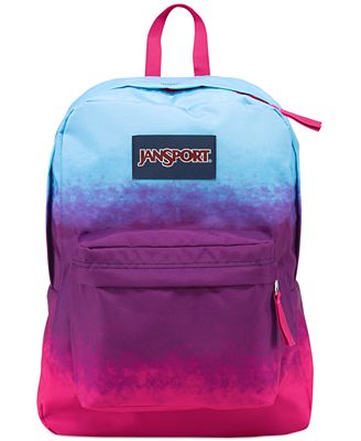 Jansport Superbreak Backpack, Purple Night Ombre - Backpacks ...