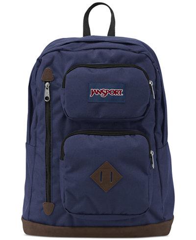 Jansport Austin Backpack in Navy Moonshine