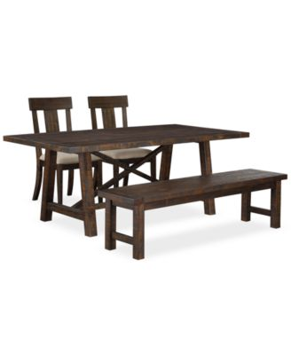 CLOSEOUT! Ember 4 Piece Dining Room Furniture Set, Created for Macy's,