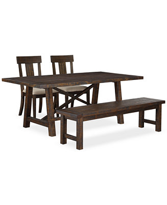 ember 4 piece dining room furniture set furniture macy 39 s