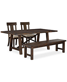 Ember 4 Piece Dining Room Furniture Set, Created for Macy's,