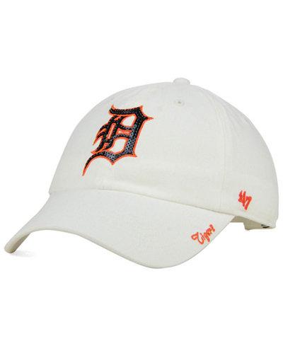 '47 Brand Women's Detroit Tigers Adjustable Clean Up Cap