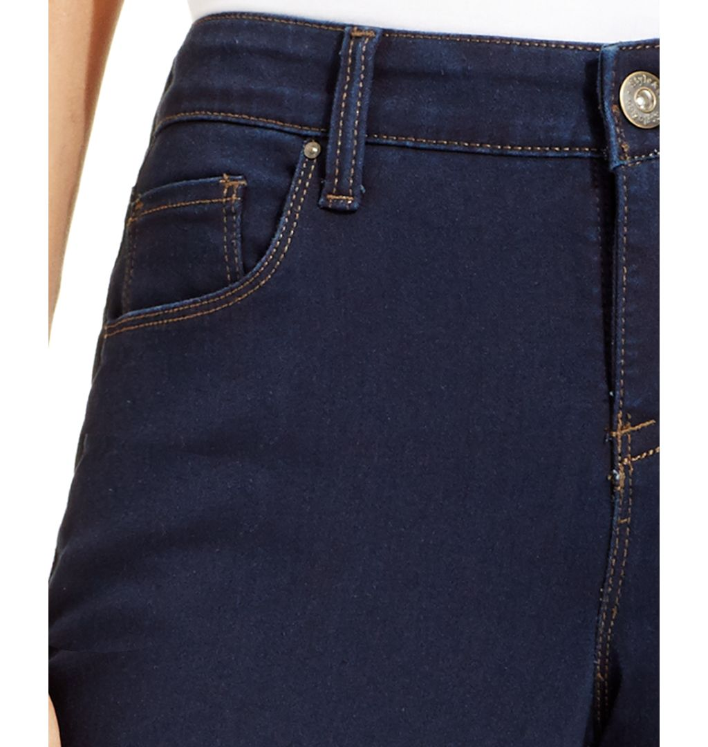 Style & Co. Cotton/polyester/spandex Curvy-Fit Skinny Jeans, Only at Macy's