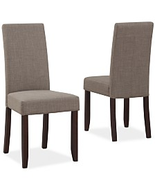 Easton Set of 2 Deluxe Parson Chairs, Direct Ships for $9.95!