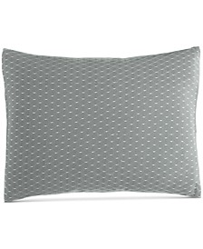 "Pyrus Fishnet Overlay 12"" x 16"" Decorative Pillow"
