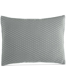 "Calvin Klein Pyrus Fishnet Overlay 12"" x 16"" Decorative Pillow"