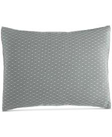 "Calvin Klein Pyrus Fishnet Overlay 12"" x 16"" Decorative Pillow"