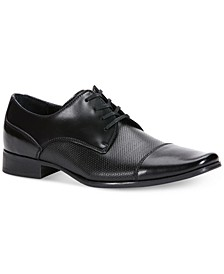 Men's Bram Diamond Textured Oxfords