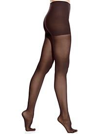 Women's  Comfort Luxe Semi Opaque Control Top Tights