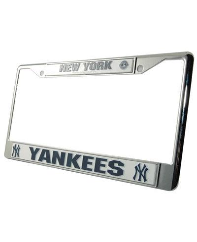 Rico Industries New York Yankees Chrome License Plate Frame