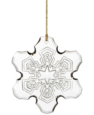 Closeout! Marquis by Waterford 2015 Annual Snowflake Ornament