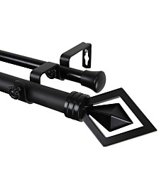 Rod Desyne Lenore Double Curtain Rod Collection