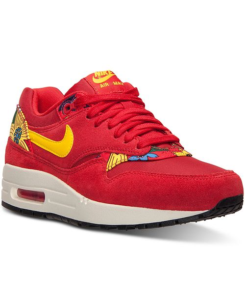 ... Nike Women s Air Max 1 Aloha Running Sneakers from Finish Line ... 79ccebf1d2