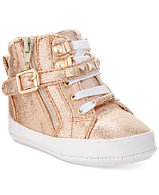 Michael Kors Ivory Rory Sneakers, Baby Girls