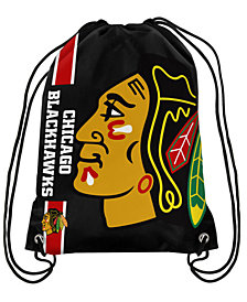 Forever Collectibles Chicago Blackhawks Big Logo Drawstring Bag