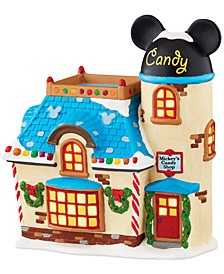 RETIRING IN 2019 Mickey's Christmas Village Collection Candy Shop