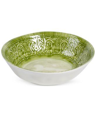 Castleware Melamine Green Dinner Bowl
