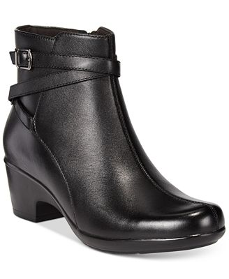 Clarks Collection Women's Malia Meara Ankle Booties